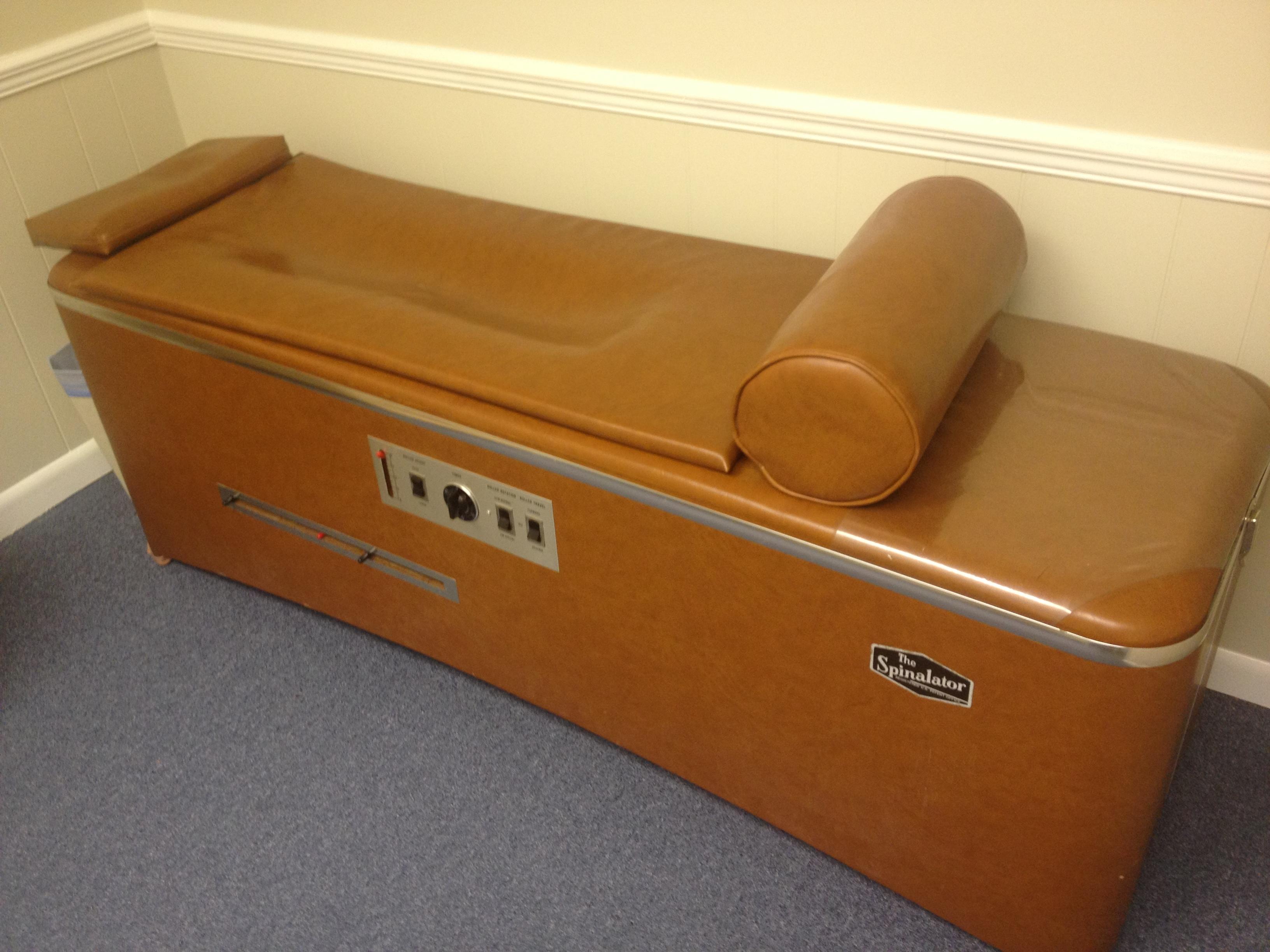 Intersegmental Traction Massage Table Wheeler
