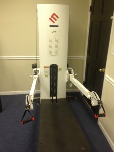 Free Motion Lower Body Rehab Machine